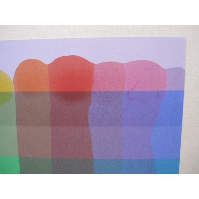 This is a gorgeous Pencil Signed Original Screenprint by Artist, Stanley Migas, numbered 1/1. It has fantastic color -...