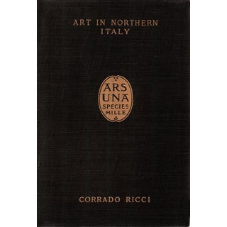 """1911 """"Art in Northern Italy"""" Collectible Book For Sale"""