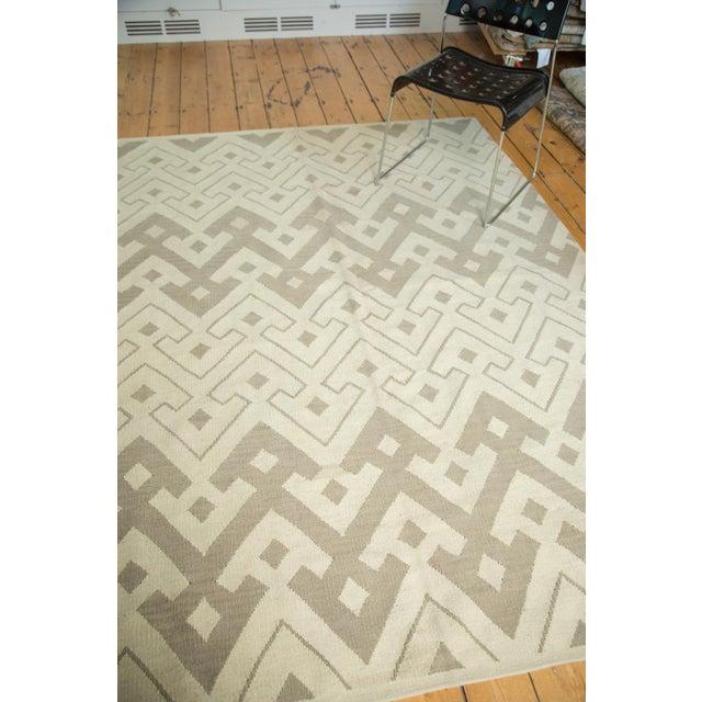 "Abstract Kilim Carpet - 6' X 7'10"" - Image 3 of 8"