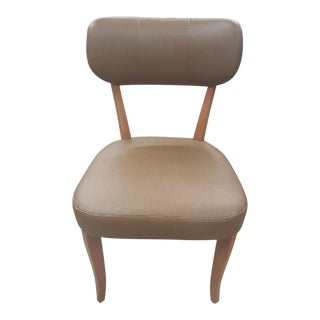 """""""The Tradd"""" Faux Leather Dining chair For Sale"""