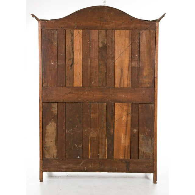 Late 18th Century French Fruitwood Chateau Armoire For Sale - Image 4 of 6