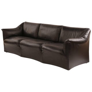 Mario Bellini for Cassina 'Tentazione' Leather Sofa For Sale