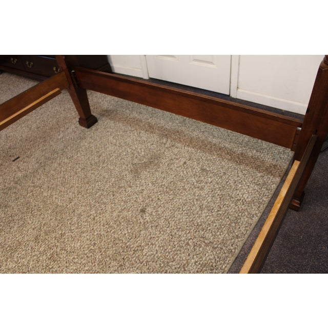 Traditional 4 Post. Plantation/Rice Queen Bedframe - Image 11 of 11