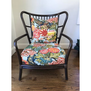 Modern McGuire Club Chairs- A Pair Preview