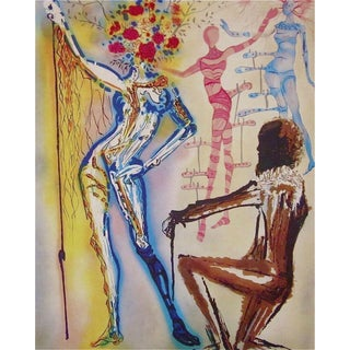 Salvador Dalí­ The Ballet of the Flowers 1989 For Sale