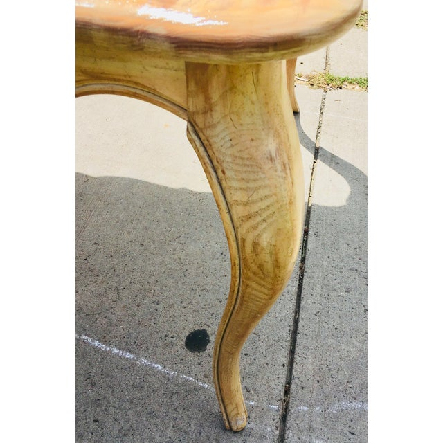 1950s French Country Style Long Dining Table For Sale - Image 9 of 13