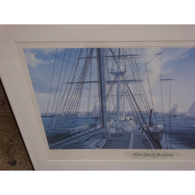 John Mecray New York Harbour Print, 1851 For Sale - Image 5 of 10