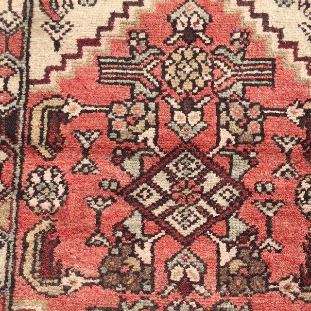 Vintage Hamadan Persian Rug -1′10″ × 2′4″ - Image 4 of 8