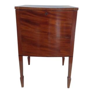 Georgian Satinwood Cellarette Cabinet For Sale
