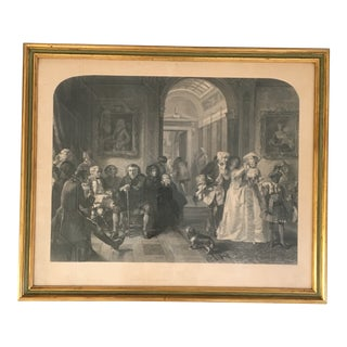 19th Century Etching and Engraving of Lord Chesterfield For Sale