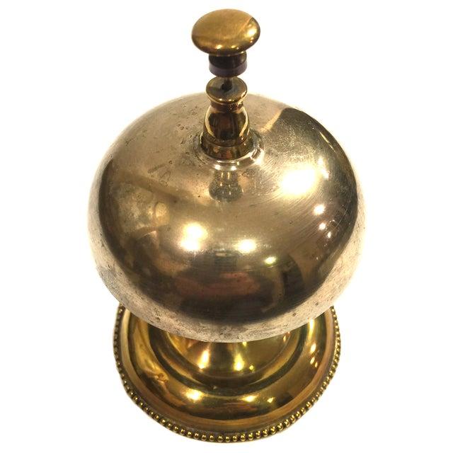 Antique Brass Victorian Hotel Desk Clerk Counter Bell - Lovely, antique  desk bell with a - Antique Brass Victorian Hotel Desk Clerk Counter Bell Chairish