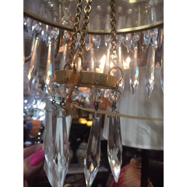 1950s Vintage Neo-Classic Brass Dore Chandalier For Sale In Los Angeles - Image 6 of 13