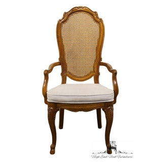 Thomasville Furniture Place Vendome Collection Cane Back Dining Arm Chair Preview