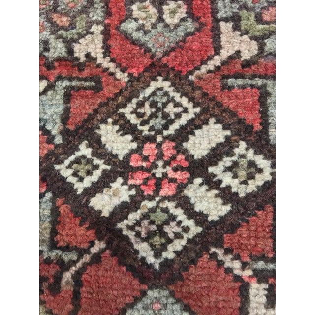 Hamadan Persian Rug - 1′9″ × 2′5″ - Image 6 of 9
