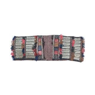 Vintage Camel Saddle Bag Textile Art For Sale
