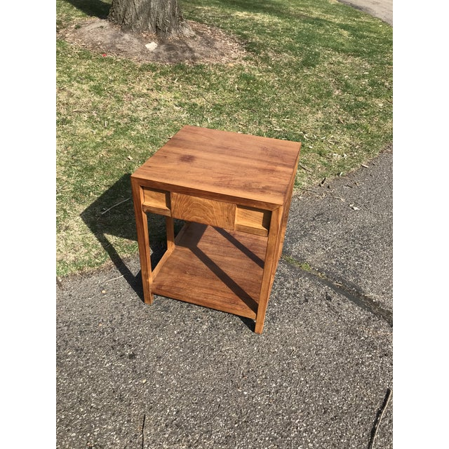 Mid-Century Modern Mid Century Walnut Side Table by Widdicomb For Sale - Image 3 of 8