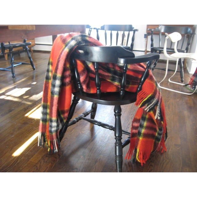 Red Plaid Arno Wool Camp Blanket - Image 6 of 6