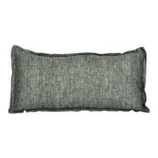 Thistle Accent Pillow Mustard For Sale