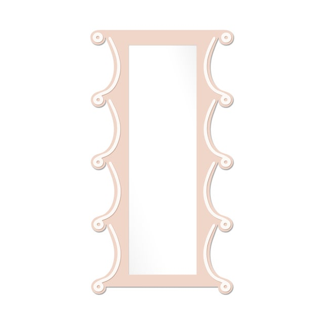 Contemporary Fleur Home x Chairish Voodoo Mirror in Pink Ground, 42x84 For Sale - Image 3 of 3
