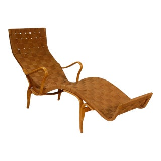 Mid-Century Modern Bruno Mathsson Lounge Chair
