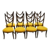 Image of 1960s Vintage Monteverdi-Young Dining Chairs- Set of 8 For Sale