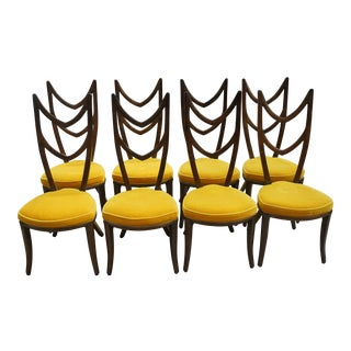 1960s Vintage Monteverdi-Young Dining Chairs- Set of 8 For Sale