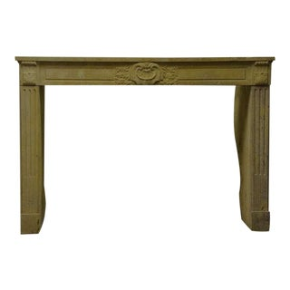 Limestone Louis XVI Fireplace