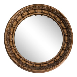 Art Deco Convex Bullseye Mirror For Sale