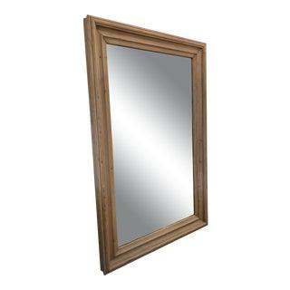 Reclaimed Pine Ralph Lauren Floor Leaner Mirror For Sale