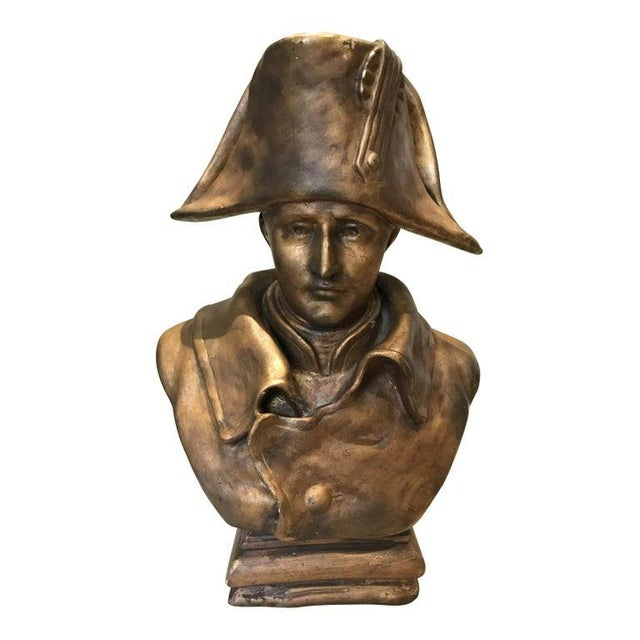19th Century Napoleon Bonaparte Bronze Bust For Sale In New York - Image 6 of 6