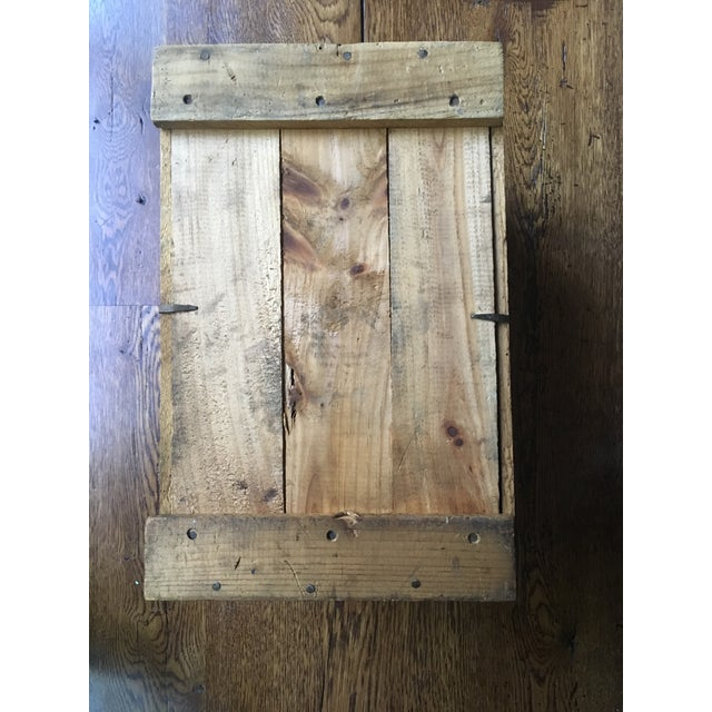 1920s Cape Cod Cranberry Crate For Sale - Image 4 of 6