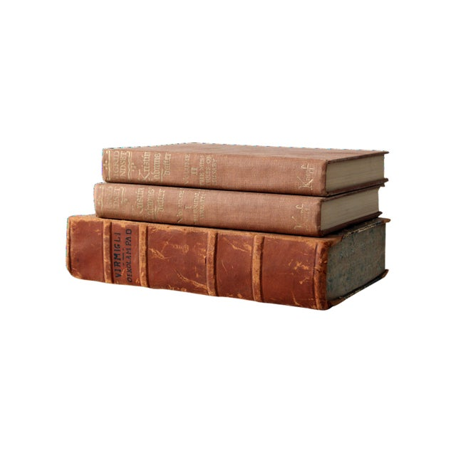Antique Varied Book Collection - Set of 3 - Image 1 of 5