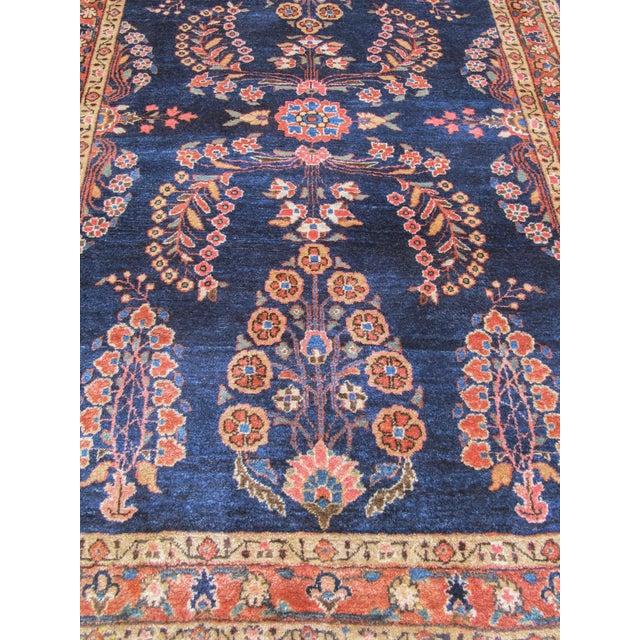 Traditional Elegant Sarouk Carpet For Sale - Image 3 of 4