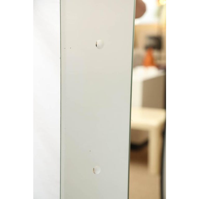 1950s Large Rectangular Venetian Dotted Mirror For Sale - Image 5 of 5