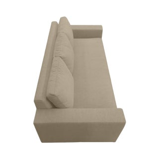 """Custom to Order """"Texture in Linen"""" Collection """"The Long and Narrow"""" Sofa"""