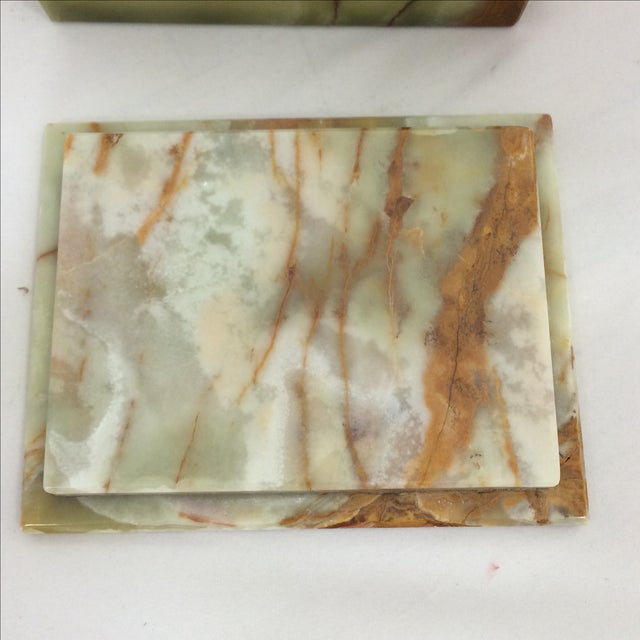 Onyx Box with Fitted Lid - Image 5 of 6