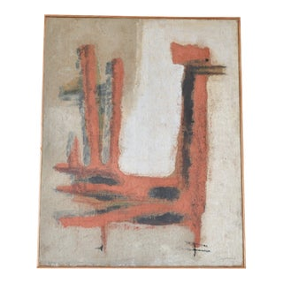 Composition of a Bird by Ramón Lapayese For Sale