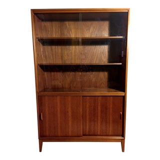 Vintage Mid-Century Modern Bookcase / Credenza For Sale