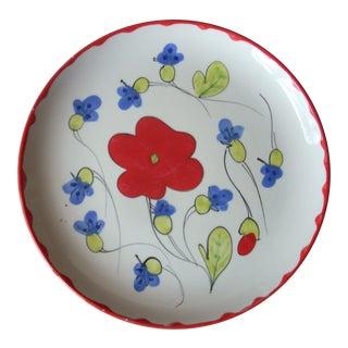 Vintage Mancioli Plate