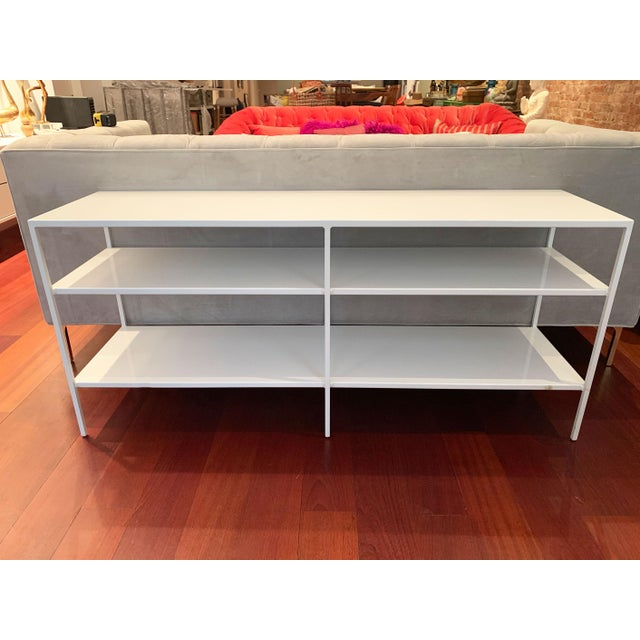 2010s Room and Board Metal Shelving Unit For Sale - Image 5 of 10