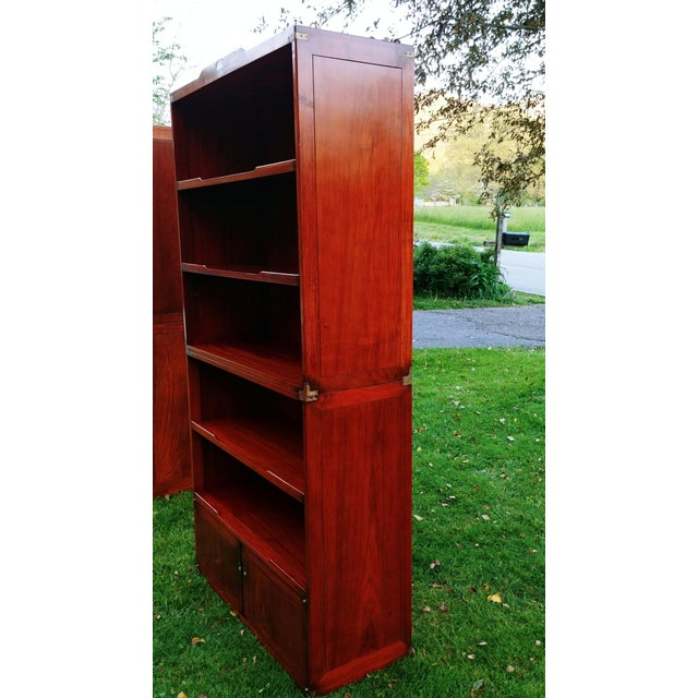 Early 21st Century Starbay Rosewood Marco Polo Bookshelf Bookshelves - a Pair For Sale - Image 5 of 12