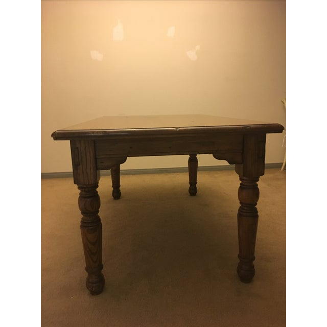Pottery Barn Farmhouse Dining Table - Image 5 of 6