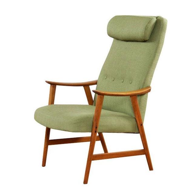 Mid-Century Modern Dokka Mobler Restored Arm Chair - Image 6 of 10