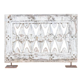 Ambika Stone Carved Jali on Stands For Sale