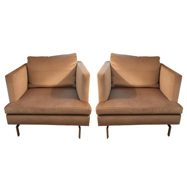 Ligne Roset Club Chairs - A Pair - Image 1 of 8