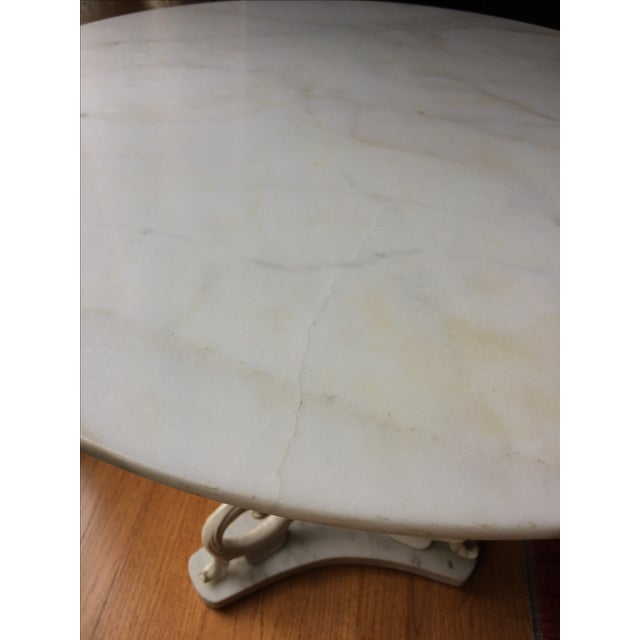 1950s Palladio Marble Side Table - Image 3 of 5