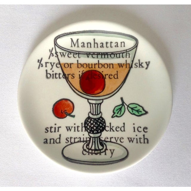 Piero Fornasetti Drinks Coasters - Set of 6 For Sale In West Palm - Image 6 of 11