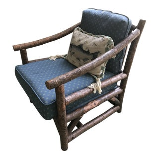 Rustic Club Chair by La Lune Collection For Sale