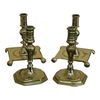 Two Virginia Metalcrafters Colonial Williamsburg Brass Sconces - Set of 4 For Sale