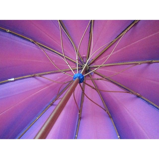 Vintage Purple Touch N Go Umbrella - Image 3 of 5